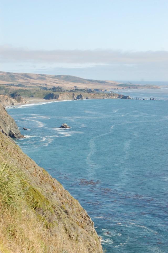 California Coastal Cliff