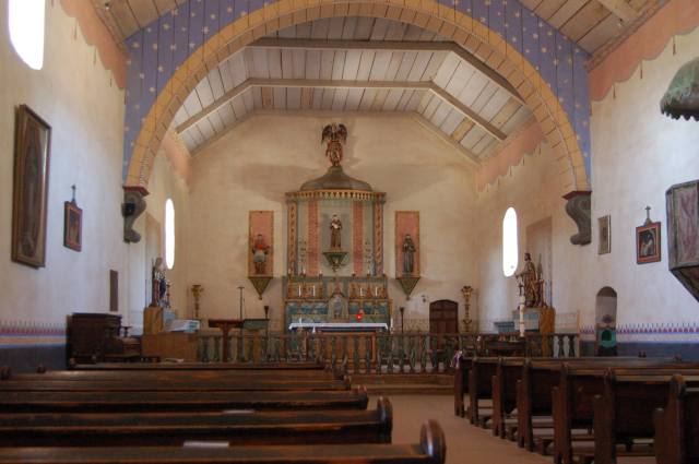 Inside Mission San Antonia de Padua
