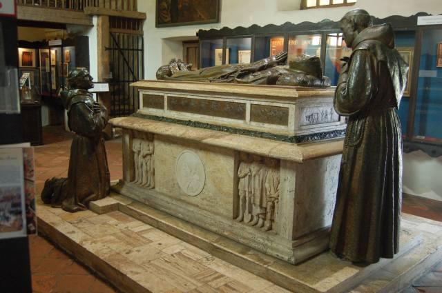 Mission Carmel Museum Statue