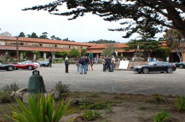 Jaguar media event at the Mission at Carmel