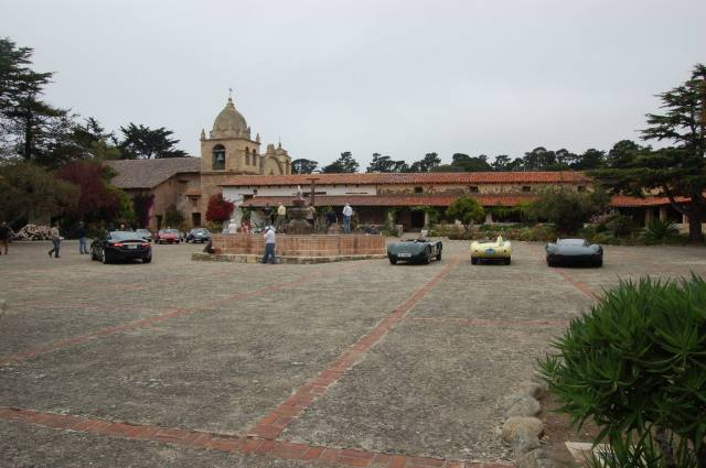Jaguars, Courtyard, Mission from a distance