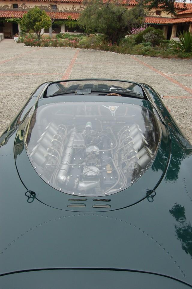 Jaguar Engine Under Glass