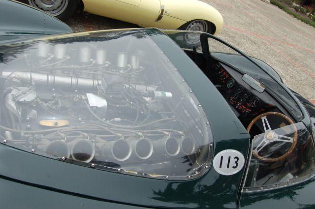Jaguar Engine with Instrument Panel