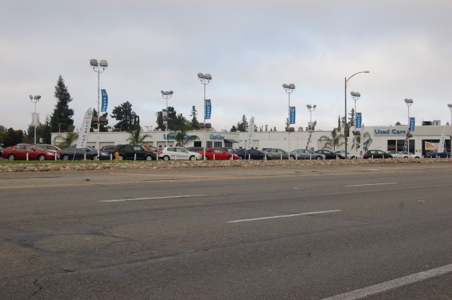 Honda USED car lot, was Volvo, then Ford