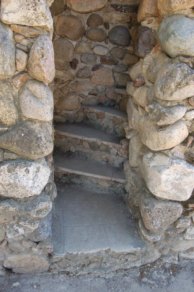 Mission San Miguel Stone Stairway