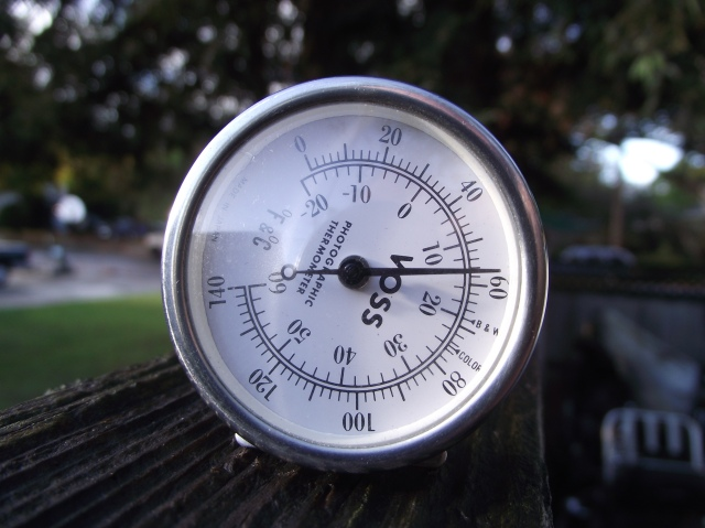 Temperature on The Fence Top