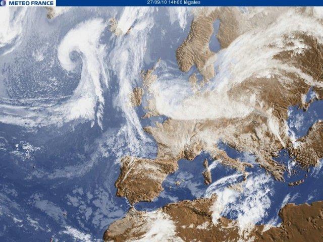 Europe via Meteo France