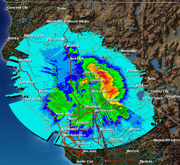 Chico Total Precipitation this storm