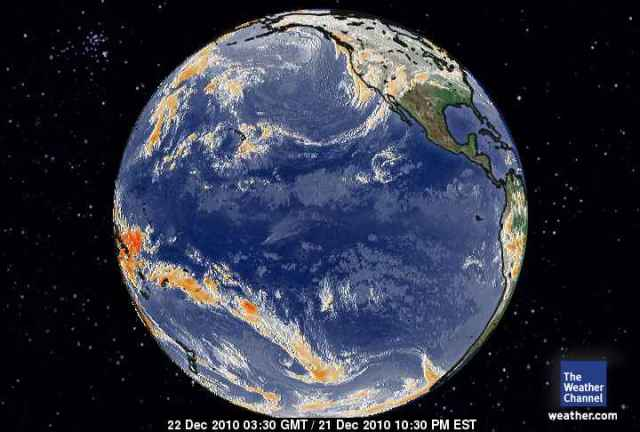 Global View of the Pacific 21 Dec 2010