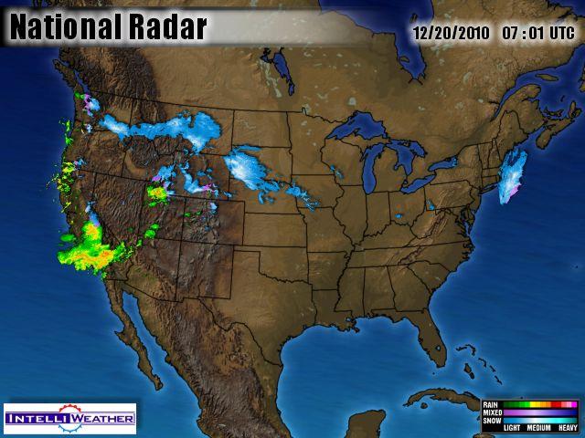 National Radar 19 December 2010