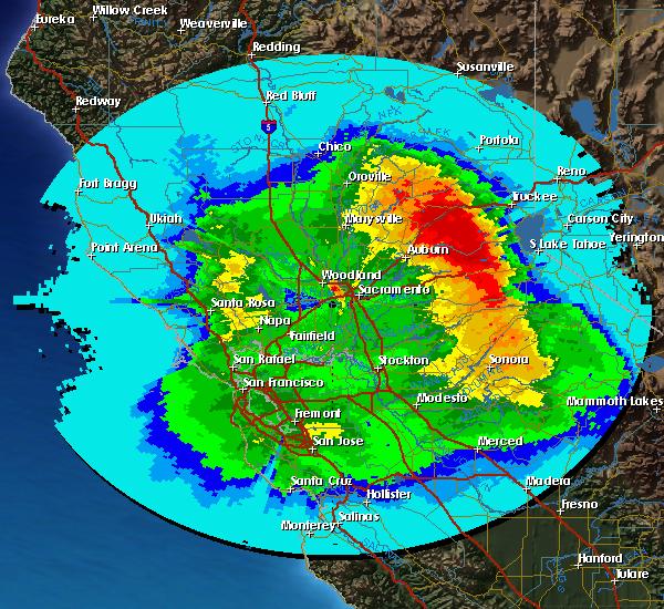 Sacramento Total Precipitation This Storm