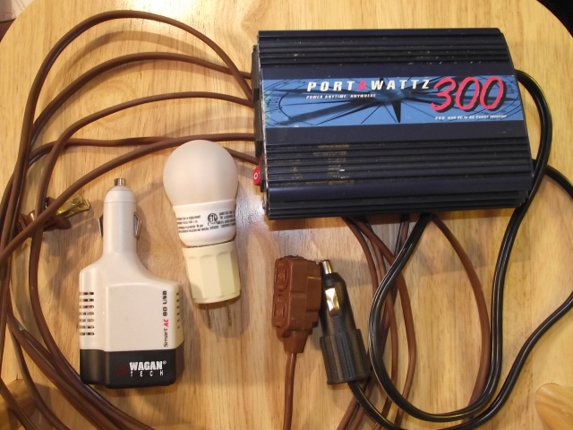 Minimalist Portable Power Kit