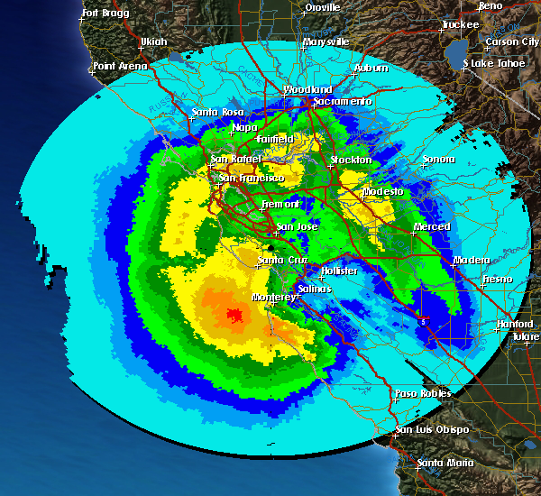 SFO 4 June 2011 Total Precipitation This Storm