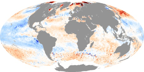 Sea Surface Temps SEPTEMBER 2011