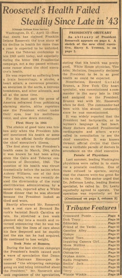 FDR Trib Page 1