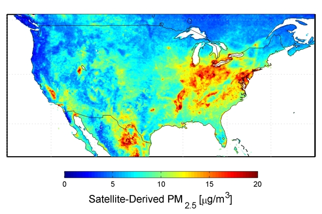 Particulate Map USA