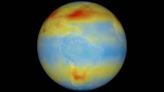 South American CO2 view