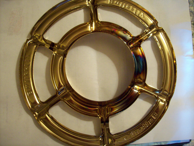 Butterfly Stove pot support ring, bottom view