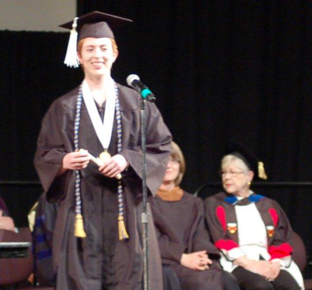 Miss Smith Graduates with Honors