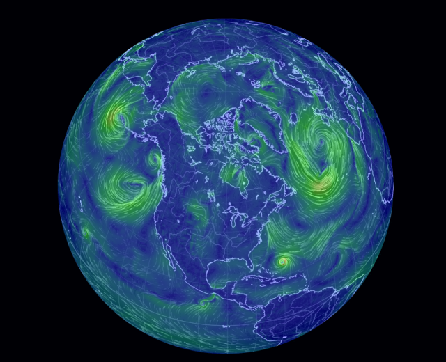 N. Hemisphere wind with Gonzalo