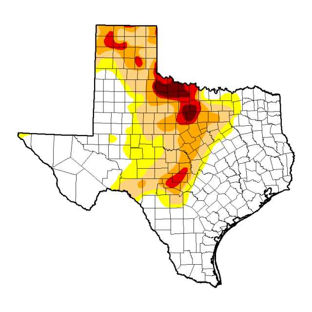 Texas Drought Index April 2015