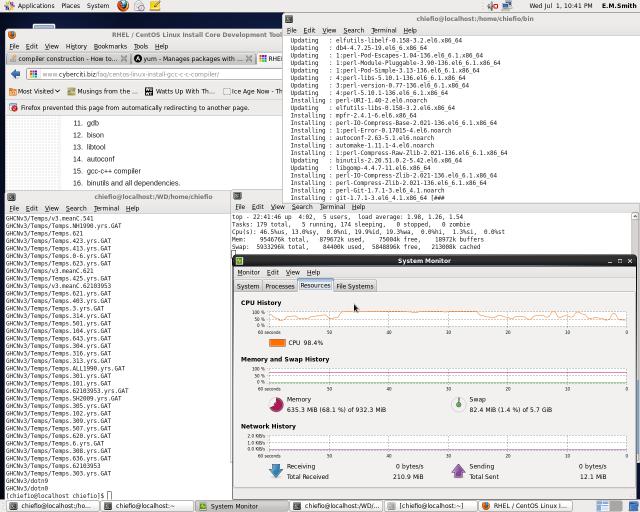 Development Tools Install at Perl step