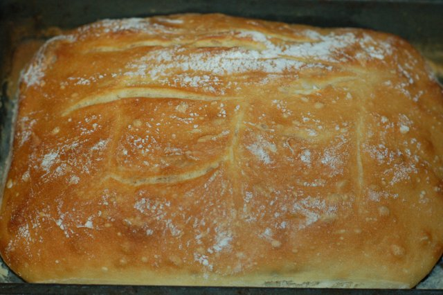 Nice Artisan No Knead Bread Loaf