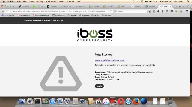 SDA Blocked Notice