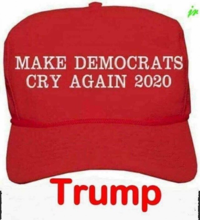 Cry 2020 Hat