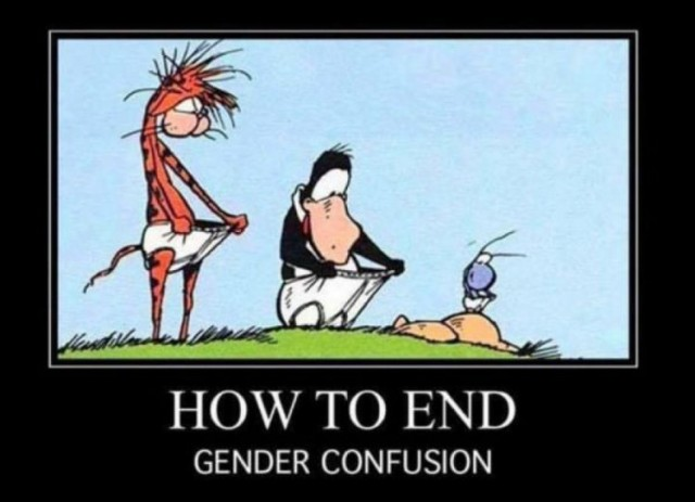 How to end gender confusion