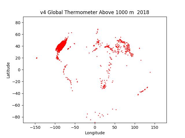 GHVN v4 Stations over 1000m Altitude in 2018