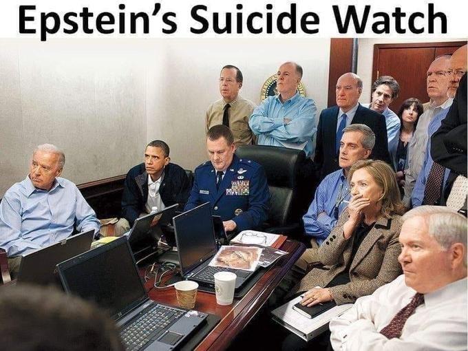 Epstein Had A Very Alert Suicide Watch