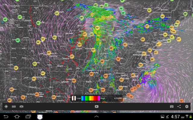Midwest radar May 18, 2020