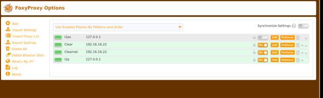 Add Proxy Server Page